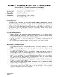Trainer Resume Athletic Trainer Resume Freelance Trainer Resume Sample: 57 Trainer  Resume