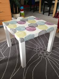 Lacks Bedroom Furniture Ikea Lack Table Hack Used A Duvet Cover And Attached It To The