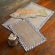 mackenzie childs courtly check sisal rug 339 x 539 mackenzie childs kitchen rugs