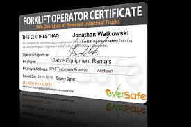 forklift license template download training certification template image collections forklift operator