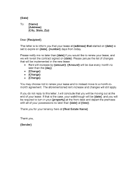 36 best lease renewal letters forms