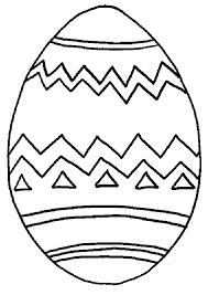 Kleurplaat Paasei