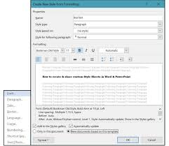 Style Template How To Create And Share Custom Style Sheets In Word And Powerpoint