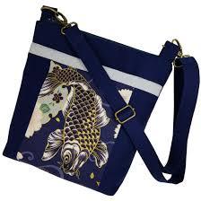 koi cross purse handbag