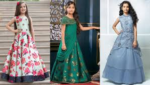 Wedding Dress Designs For Ladies Top Trends Of Girls Designer Gowns Kids Indian Wedding