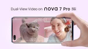 Dual-View Video on HUAWEI nova 7 Pro 5G ...