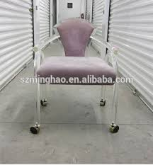 acrylic office chairs. Modern Lucite Swivel Chair,acrylic Office Chair With Locking Wheels Acrylic Chairs