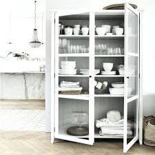 display cabinet with drawers glass