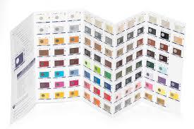 Saphir Colour Chart