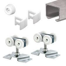 extruded aluminum pocket door track kit