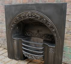 image of georgian cast iron fireplace grate