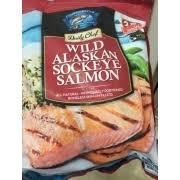 copper river seafoods daily chef wild alaskan sockeye salmon nutrition grade b