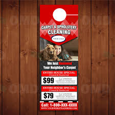 Door Hanger Design Template Carpet Cleaning Door Hanger Design 24 17