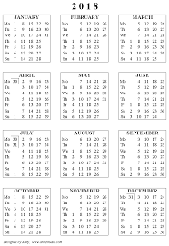 calendar 2018 free printable free printable calendars and planners 2018 2019 2020