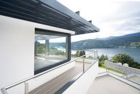 Goals A House Overlooking A Captivating Scene A Lake Surrounded By