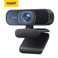 <b>1080P Webcam</b> with Microphone, <b>Full HD</b> USB Computer Camera ...