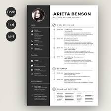 Clean Cv Resume Resumes 2 Lebenslauf Pinterest Resume