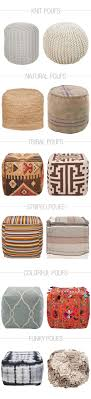12 Pouf Ottomans for Every Style
