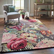 Carpet Mat Design Stapleton Rugs 45302 In Rosewood By Sanderson 140x200cm 66