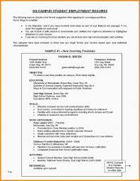 High School Student Resume Sample Job Resume Examples For High