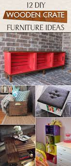 wood crate furniture diy. 12 diy wooden crate furniture ideas wood diy s