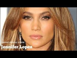 jennifer lopez makeup tutorial using shimmer and gold to create jlo s glow let be friends