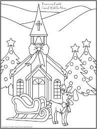 religious christmas pictures to color