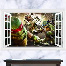 Ninja Turtle Bedroom Decor Popular Ninja Turtle Decal Buy Cheap Ninja Turtle Decal Lots From