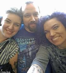 Married mother-of-two reveals her family 'feels complete' in polyamorous  throuple | Daily Mail Online