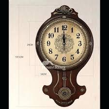 vintage wall clock with pendulum antique oak wall clock with pendulum