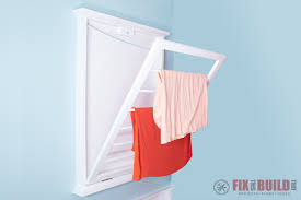 diy clothes drying rack fixthisbuildthat