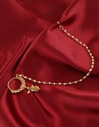 Gold Nose Ring Designs For Bridal Gold Nose Ring Design For Bridal Foto Ring And Wallpaper