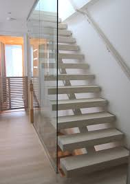 Brooklyn open riser stair contemporary-family-room