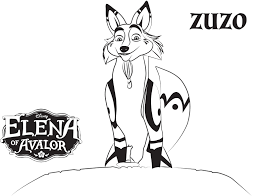 Elena Of Avalor Coloring Pages To Print
