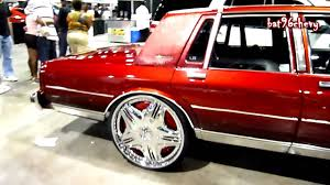 Candy Brandywine Chevy Caprice LS Box on 26