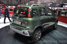 Fiat Panda 4X4 Cross rear three quarter at the 2016 Geneva Motor ...