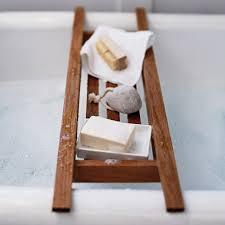 White Wooden Bathroom Accessories Wooden Bath Tidy Bathroom Accessories Bathroom Home The