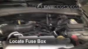 blown fuse check 2008 2012 jeep liberty 2009 jeep liberty sport locate engine fuse box and remove cover