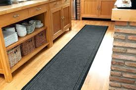 rubber backed kitchen floor mats non skid l shaped mat corner rug runner non
