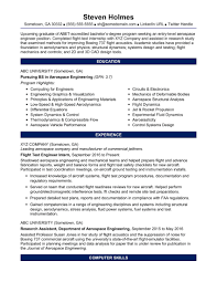Aerospace Quality Engineer Resume Sample Refrence Sample Resume For
