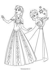 72 Disegni Da Colorare Di Frozen Il Regno Di Ghiaccio Disegni