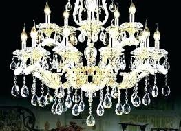 saveenlarge frosted chandelier painting print on wrapped canvas on metal