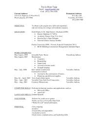 Download How To Fill Out A Resume