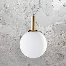 gold globe pendant light