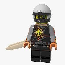 Lego Minifigure Ninja 3D Model $16 - .obj .max - Free3D