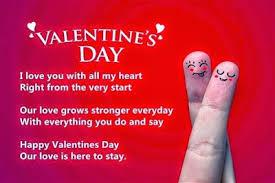happy romantic valentine s day loving