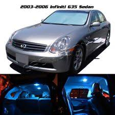 infiniti g35 interior 2006. for 20032006 infiniti g35 sedan ice blue led light interior package 9 pieces 2006