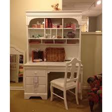 Schönes Mädchen Schreibtisch Mit Spiegel Licht Blau Holz Vintage