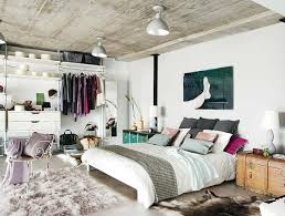 Eclectic Bedroom Interior: An Industrial Romance