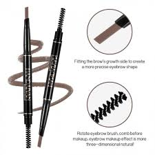 Light Brown Double Ended Eyebrow Pencil Waterproof Eyebrow Tattoo